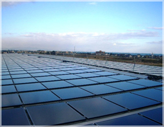 環境への取組-太陽光発電1